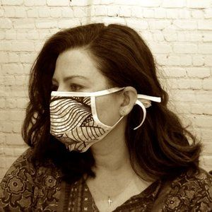 Accessories - Handmade Face Mask w/filter pocket & nose Wire